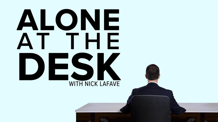 Alone At The Desk - 25: Rallying around Newaygo High School