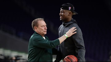 Langford out again with foot problem for No. 1 Michigan State