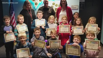 Paw Paw students graduate from Respect Challenge: One Good Thing