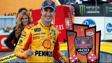 Logano edges Kurt Busch, Truex in overtime
