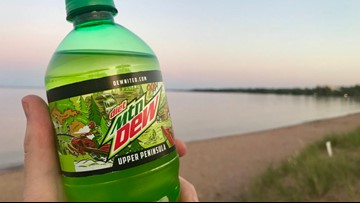 Mountain Dew unveils limited edition Upper Peninsula bottle