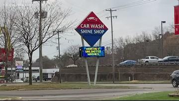 Man arrested after stealing car from Walker car wash