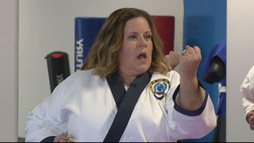 THE KARATE COMEBACK: Holland woman throws roundhouse kick at Fibromyalgia