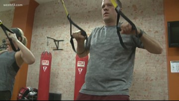 #WorkoutWednesday: Follow transformation challenge finalist on journey to fitness