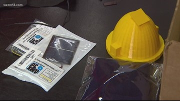 Our Michigan Life: 6th Graders inventing solar powered hat