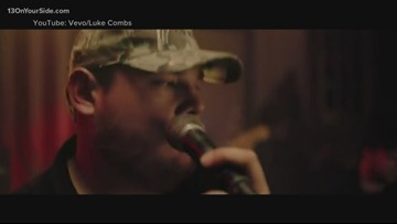 County singer Luke Combs announces concert at Van Andel Arena