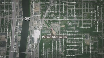 Man sitting in his car shot on Grand Rapids northeast side