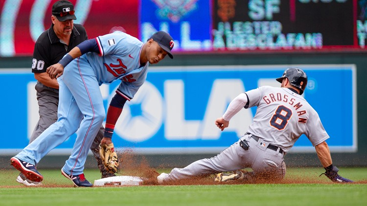 Twins rally for third straight win over Tigers, 9-4
