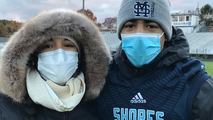 Mona Shores football player passes away after leukemia battle