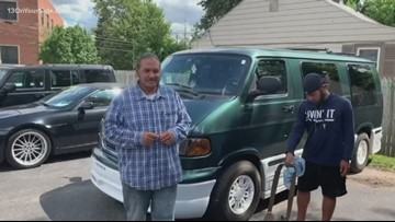Michigan man raises money for homeless vets to get a van