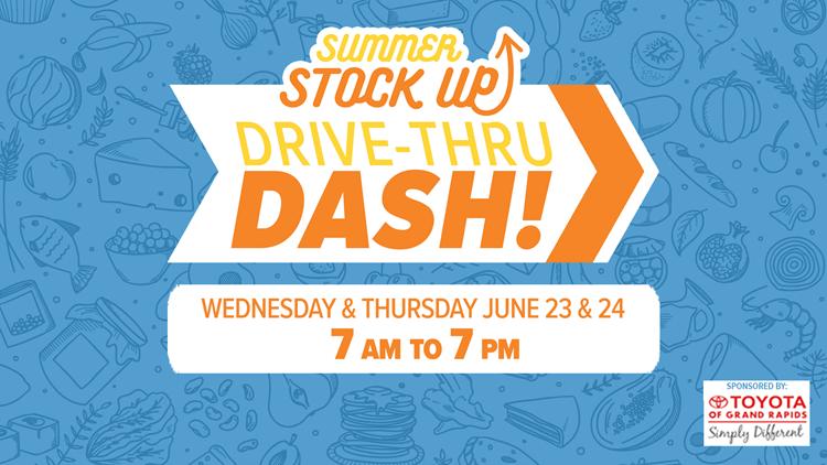 Summer Stock Up Drive Thru Dash! June 23-24