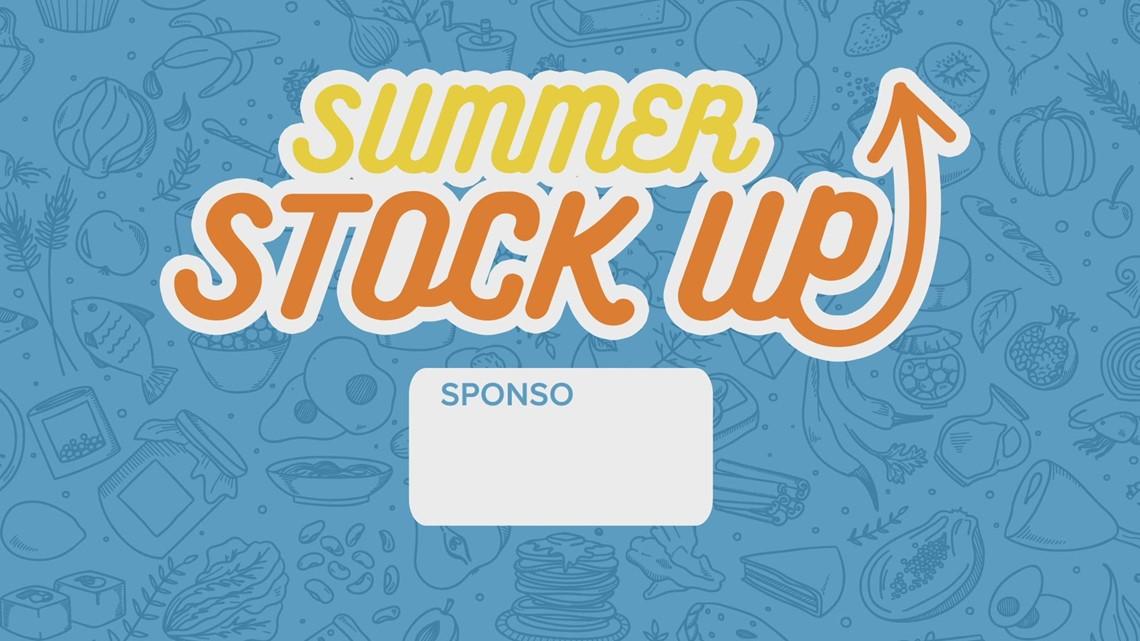 Summer Stock Up Drive-Thru Dash!