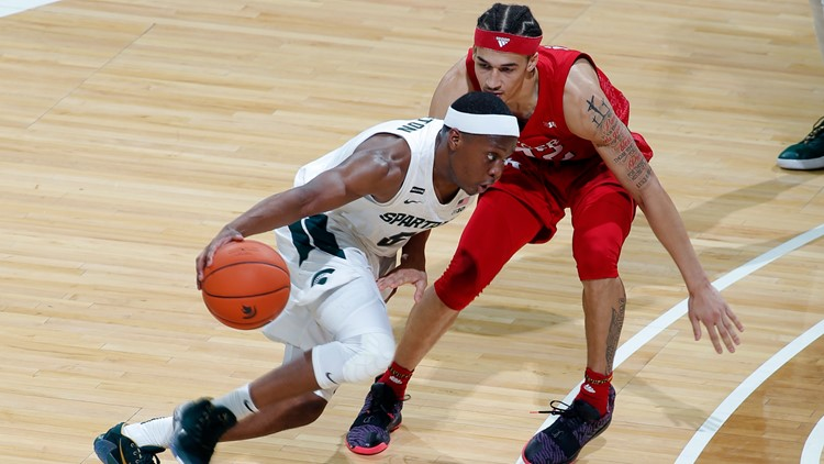 Winston scores 23 points, No. 11 Michigan State tops Rutgers