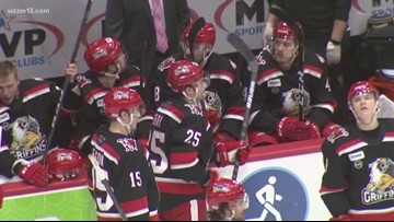 Griffins take on the Icehogs in a New Year's Eve game