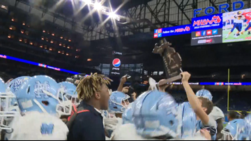 Mona Shores football wins first state title