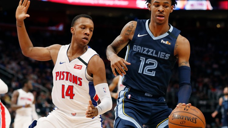Jackson, Morant lift Grizzlies past Pistons 125-112