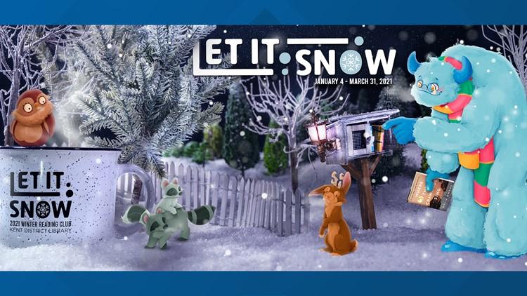 Kent District Library brings back 'Let It Snow' reading program