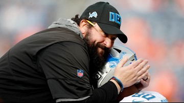 Lions lose 2 more assistants off coach Matt Patricia's staff