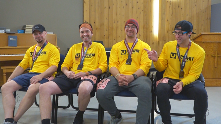 5 men recovering from substance abuse finish Grand Rapids marathon