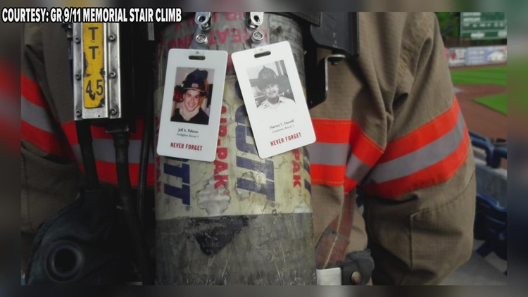 Community invited to take part in Grand Rapids' 9/11 Memorial stair climb