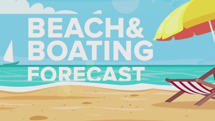 Beach & Boating Forecast - 9/18/21 PM