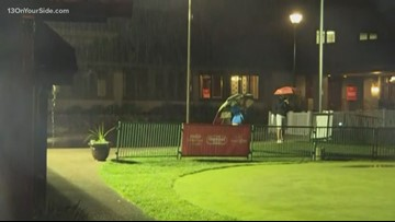 LPGA tee off impacted by rain