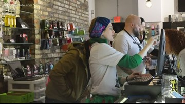 Recreational marijuana sales start in Muskegon