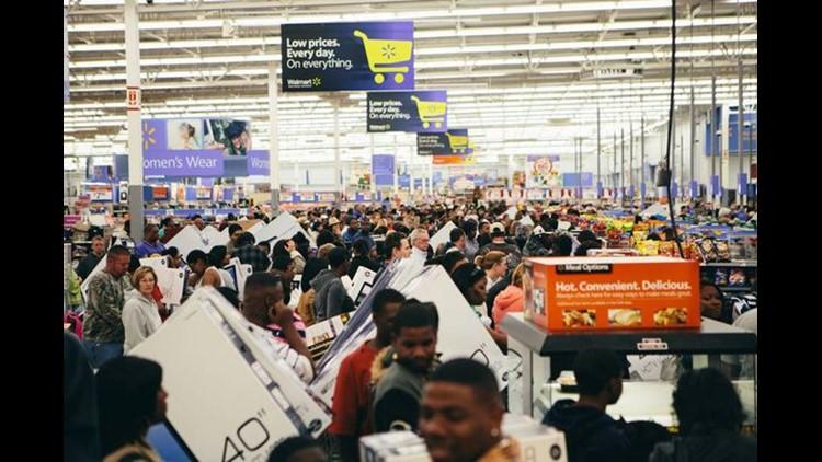 Black Friday shopping is no longer frenzied