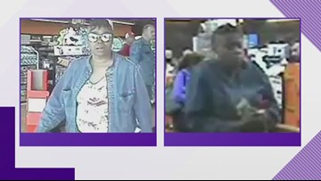 Police looking for woman who uses counterfeit money on Alpine Avenue