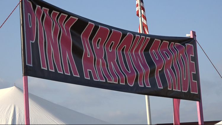 Lowell community prepares for Pink Arrow Pride night's fight against cancer