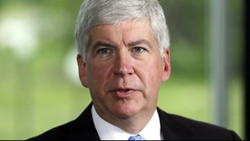 Snyder calls for civility, doesn't mention Flint in address