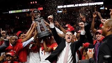 No. 9 Maryland tops No. 25 Michigan for Big Ten title share