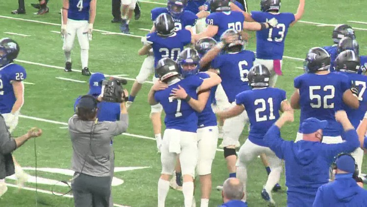Montague wins schools third football state title