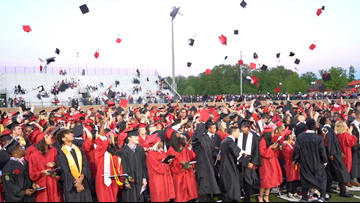 Students from over 60 countries graduate from East Kentwood High School