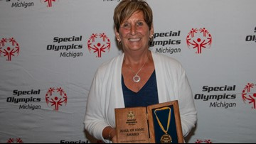 Special Olympics honors former program director at Hall of Fame banquet
