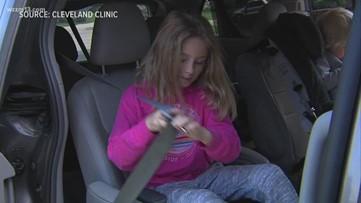 Buckle Up! Seat belt safety for children