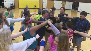 Sunrise Sidelines: Gym class live you've never seen it before
