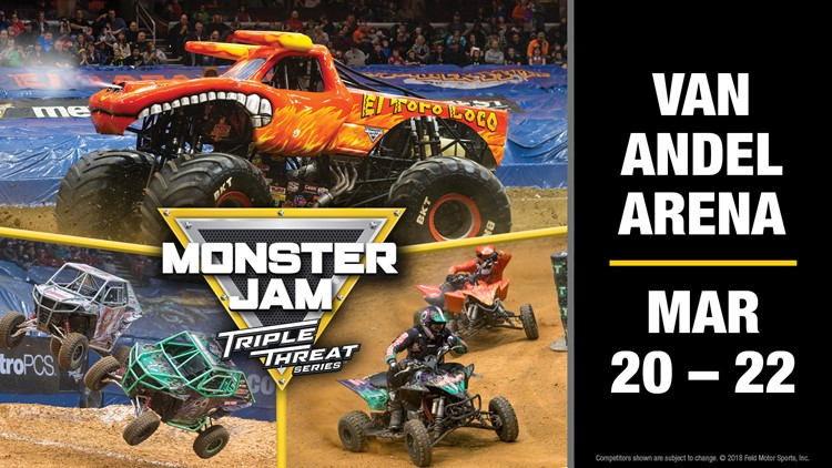 CONTEST ENDED - Enter for a chance to win tickets to Monster Jam at Van Andel Arena!