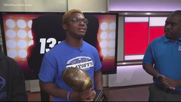 2019 13 On Your Sidelines player of the year: Jakel Davis