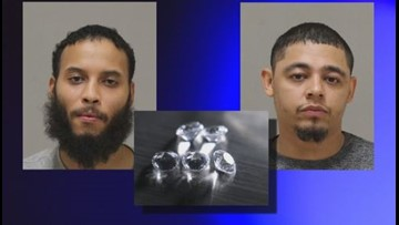 Real deal? Thieves swap diamonds with cheap substitutes