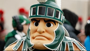 Michigan State's Sparty mascot to be kept from most parades