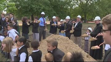 John Ball Zoo breaks ground on new playground