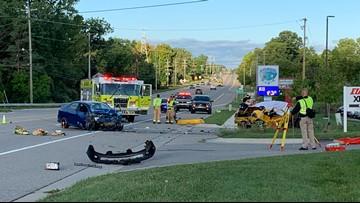 1 killed in collision on Lake Michigan Drive