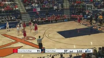 Division 3 Women's NCAA Tournament, Hope hosting Grove City