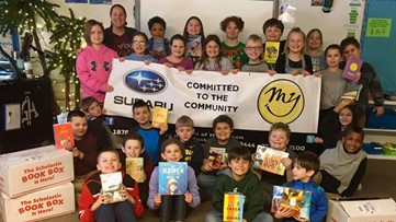 Muskegon dealership gifts two classes $1,000 in books