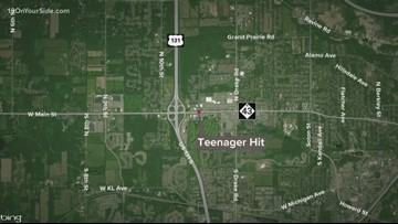 Teen in critical condition after being hit by car in Kalamazoo County