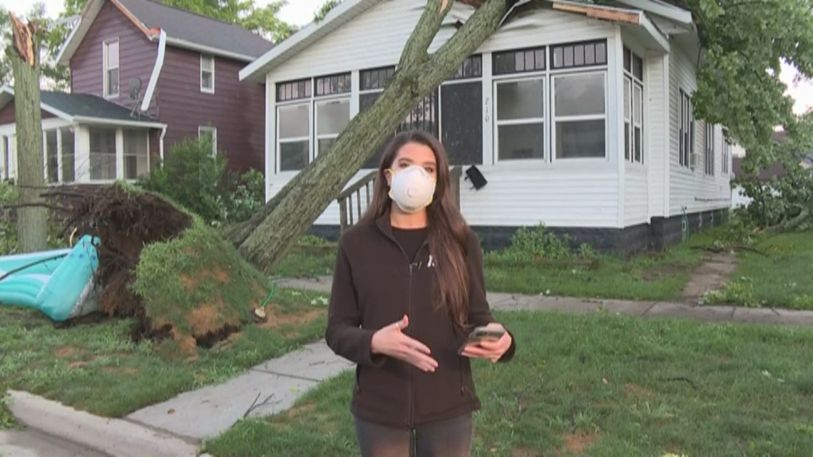 Muskegon County storm damage