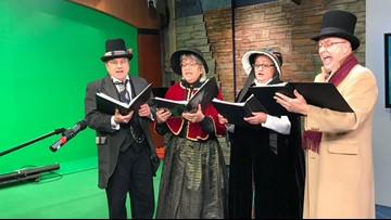 The Original Dickens Carolers spread holiday cheer with caroling