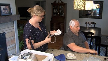 Electricity helps controls Michigan man's brain tumor