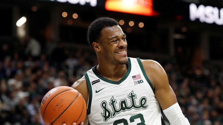 Xavier Tillman takes part in social distancing, talks college basketball future